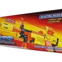 Mainan sniper soft bullet gun senapan pistol peluru busa sgun nerf