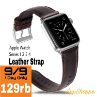 Apple Watch 42 44mm Genuine Cowhide Leather Strap Series 1 2 3 4