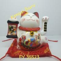 Lucky cat, pajangan kucing hoki, Maneki-neko
