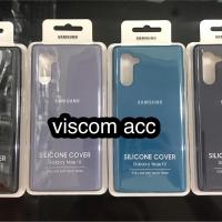 silicone case samsung note 10 ori oem back cover
