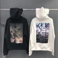 Fear Of God Essentials Floral Photo Print Hooded Sweatshirt