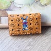 Mcm brown wallet original