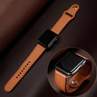 STRAP JAM KULIT LEATHER BAND APPLE WATCH IWATCH 1 2 3 4 5 38MM 40MM