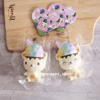PROMO SQUISHY LICENSED mini yummibear fairyfloss by creamiicandy (ORI)
