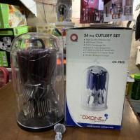 Cutlery Set / Sendok Set Oxone OX-9800 Tebal Red Rubby