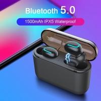 HBQ Q32 TWS Superbass bluetooth 5.0 Wireless,Headset Powerbank1500MAH