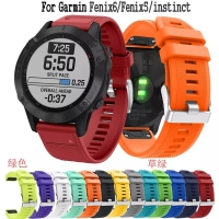 STRAP TALI JAM RUBBER SILIKON BAND QUICK EASY FIT GARMIN FENIX 5 6 5+