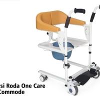 Kursi Roda One Care ALK902 + Commode / Onecare chair kursi bab + mandi