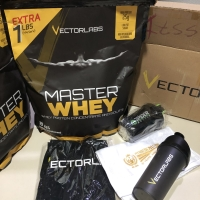 Vectorlabs master whey 11lbs susu protein suplemen fitness not evo gym