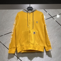 AAPE Hoodie Yellow Grey