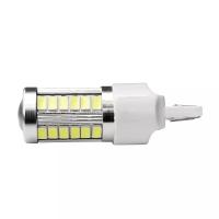 Lampu Led Rem Mobil T20 7443 Flash Strobe Putih R207