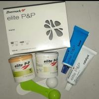 Trial kit zhermack double impression putty light body elite p&p dental