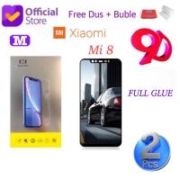 MAXFEEL Tempered Glass 5D 6D Xiaomi Mi 8 Mi8 Full Glue Full Lem