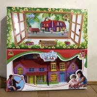 Mainan anak rumah-rumahan dream villa / mainan villa anak perempuan