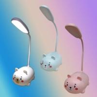 Lampu Meja / Lampu belajar Portable LED Mouse Rechargeable