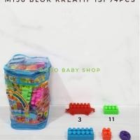 M158 Blok Kreatif isi 72pcs Puzzle Susun / LEGO / Mainan Edukasi