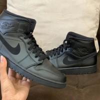 Nike Air Jordan 1 Mid full black