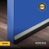 Raven Door Bottom Seal RP 2A Clear(silver) / penutup celah bawah pintu