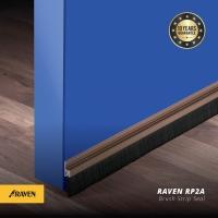 Raven Door Bottom Seal RP 2A Bronze(brown) / penutup celah bawah pintu