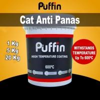 Puffin High Temp 600 - cat tahan panas - high temp paint 1 liter