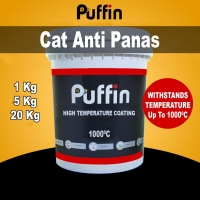 Puffin High Temp cat tahan panas 1000 derajat - cat anti panas 5 liter