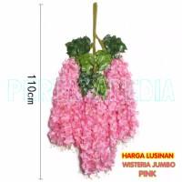 Daun Bunga Gantung/ Daun Bunga Hiasan Wisteria/ Wisteria Jumbo