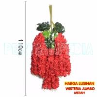 Daun Bunga Plastik/ Daun Bunga Artificial/ Wisteria Jumbo