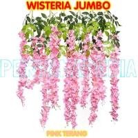Bunga Plastik/Daun Rambat/Rumput Plastik/Floral Foam/Wisteria Jumbo