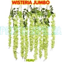 Bunga Plastik/Bunga Hiasan/Bunga Gantung/Bunga Dekorasi/Wisteria Jumbo