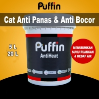 Cat anti panas bocor Puffin AntiHeat cat penolak panas 5L