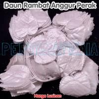 LUSINAN Daun Rambat Plastik/ Daun Rambat Artificial/ Daun Perak