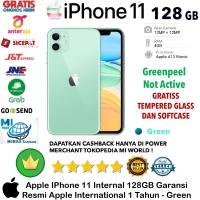 Apple IPhone 11 128 GB iP 11 128GB Garansi Resmi-Inter-Green-Hijau