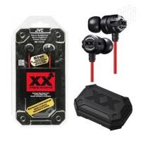 Earphone JVC HA FX3X Original HA-FX3X Black Xtreme Xplosives