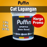 Cat Lapangan Waterbased Puffin Sportco 25Kg