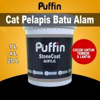 Cat batu alam Puffin StoneCoat 1L gloss - doff