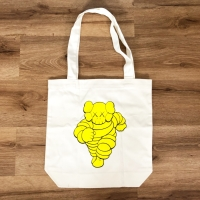KAWS Chum Tote Bag Yellow