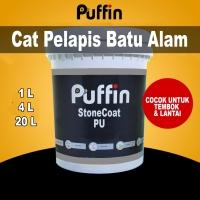 Cat Pelapis Batu Alam Puffin Stonecoat PU 1L