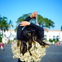 HAIRCLIP BLONDE SUSU ALA K-POP UNTUK OOTD/PARTY