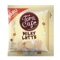 Toracafe Milky Latte 1 Renceng 10 Sachet Pcs - Tora Cafe Kopi Krimer
