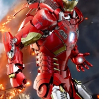 Hot Toys Iron Man Mark VII Diecast SE The Avengers Hottoys Ironman 7