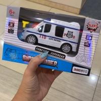 POLICE CAR REMOTE CONTROL RC / remot mainan anak kado mobil polisi mob