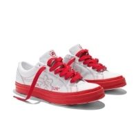 Converse One Star x Golf le Fleur Racing Red