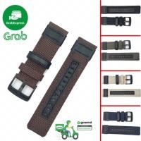 NyloN strap canvas 20mm 22mm -Tali jam tangan |Quick realise - Cokelat, 22MM