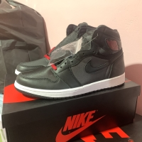 Nike Air Jordan 1 High Black Satin