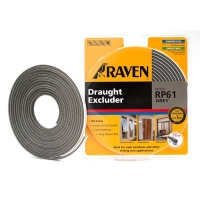 Raven Door & Window Seal RP 61 Grey / Moher, Mohair sliding door