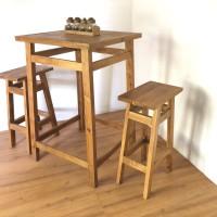 Table & Chair Bar Set/ kursi bar / meja bar / furniture cafe