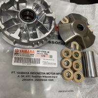 Rumah Roller Assy Set Yamaha Xeon , Xeon RC , Mio M3 GT 125 44D