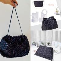 PANACHE Korean Premium Dual Bag in Bag Organizer Tas Dalam Tas Travel