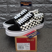 Vans Old Skool Primary Checkerboard Black White - 4.5