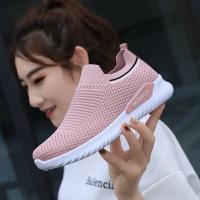 Promo Sepatu Wanita/Sepatu Running/Sneakers Wanita/Fashion Wanita - Merah Muda, 37